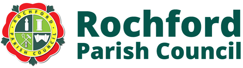 Rochford Parish Council Header & Logo