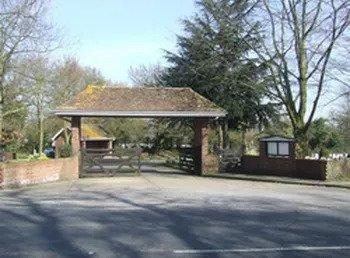 Lychgate Rochford Lawn cemetery
